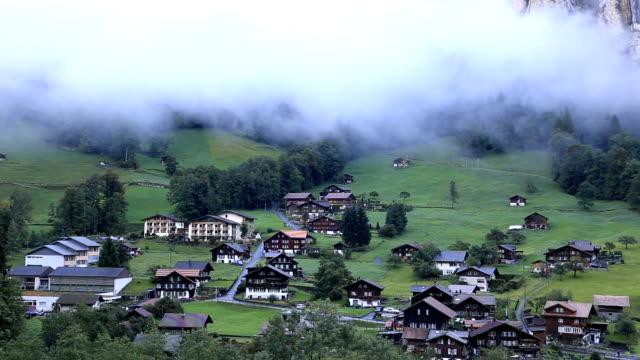 Lauterbrunnen Valley in Switzerland video