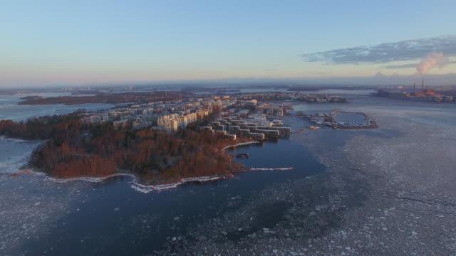 helsingfors drumsö - drone helsinki bildbanksvideor och videomaterial från bakom kulisserna