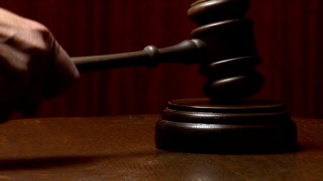 Law Gavel video