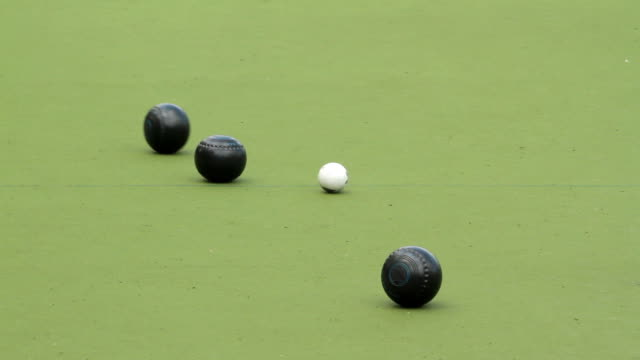 Lawn bowls video