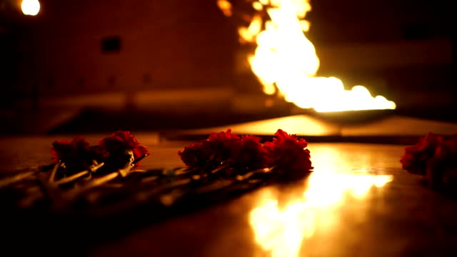 Lay carnations at the eternal flame video