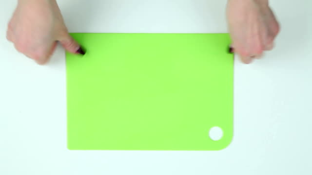 Lay the board for cutting video