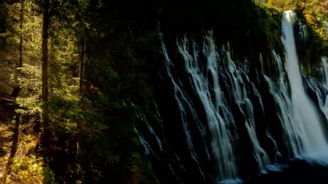 layered waterfalls - brent video stock e b–roll