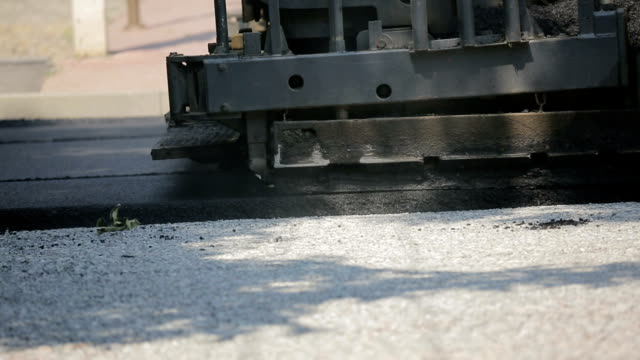 Laying Asphalt On The Street video