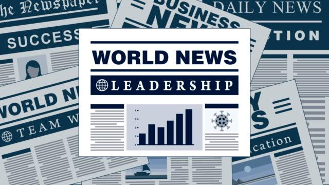 Leadership Breaking News Newspaper Headlines