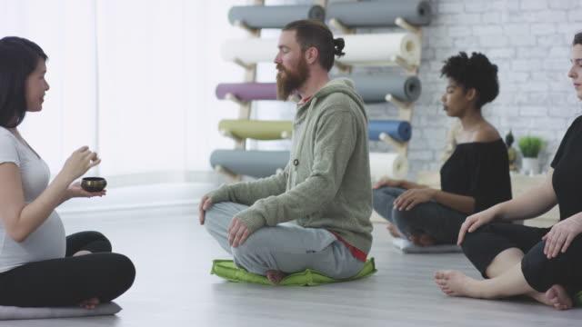 Leading Meditation video