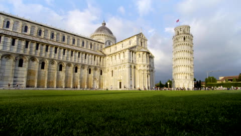 Leaning Tower, Dome of Pisa, Tuscany, Central Italy, Square of Miracles, Tourists Attraction, UNESCO,FullHD Leaning Tower, Dome of Pisa, Tuscany, Central Italy, Square of Miracles, Tourists Attraction, UNESCO,FullHD famous place stock videos & royalty-free footage