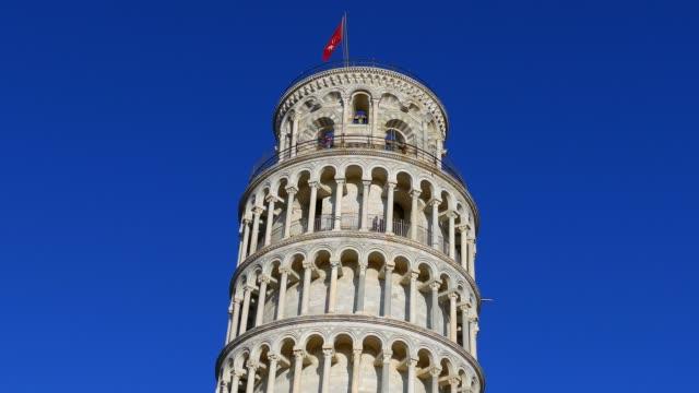 pisa kulesi, toskana, i̇talya - pisa kulesi stok videoları ve detay görüntü çekimi