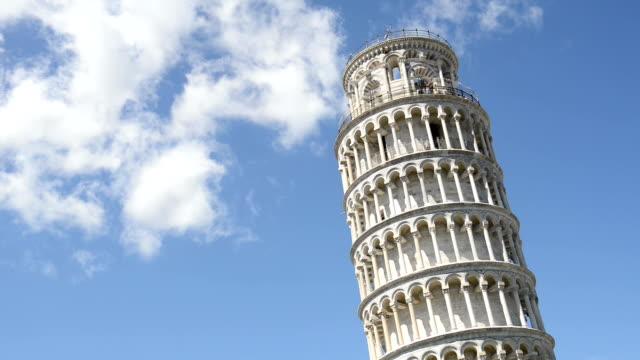 pisa kulesi - pisa kulesi stok videoları ve detay görüntü çekimi