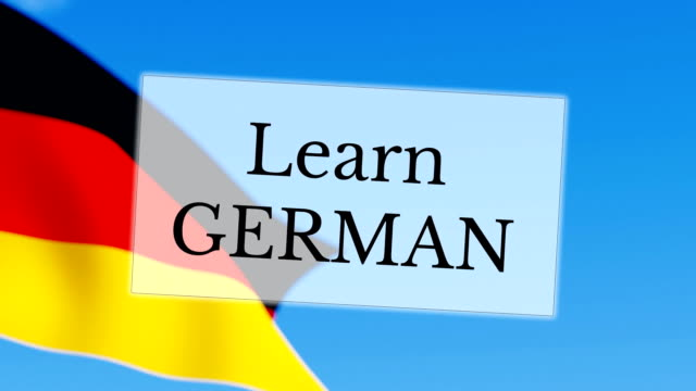 Apprenez en allemand - Vidéo