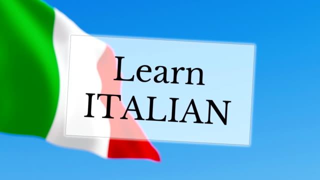 Learn Italian video