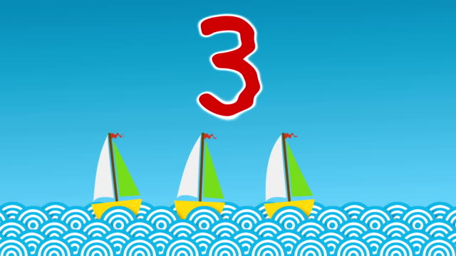 Learning to Count… Ten Little Boats video