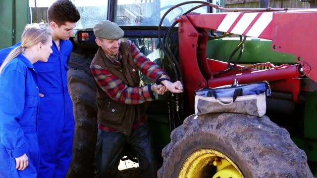 Learning To Maintain the Farm's Tractor video