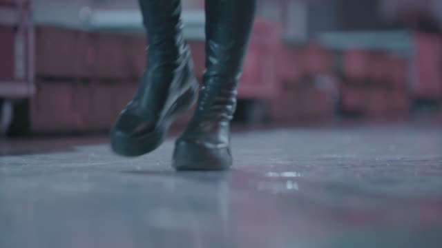 Leather Boots and Jeans video