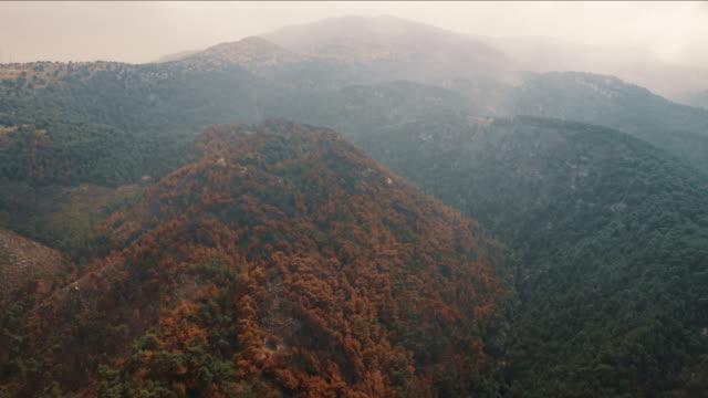黎巴嫩 - 空中超延 - 山脈 - lebanon 個影片檔及 b 捲影像