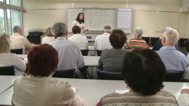 HD: Lecturer Practicing Pronunciation video