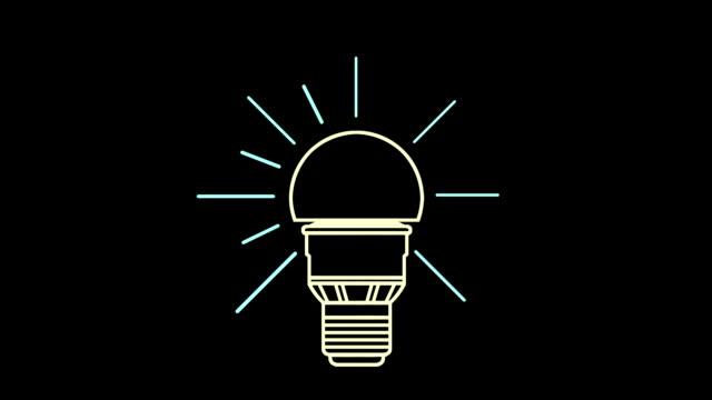 led-leuchtmittel - led leuchtmittel stock-videos und b-roll-filmmaterial