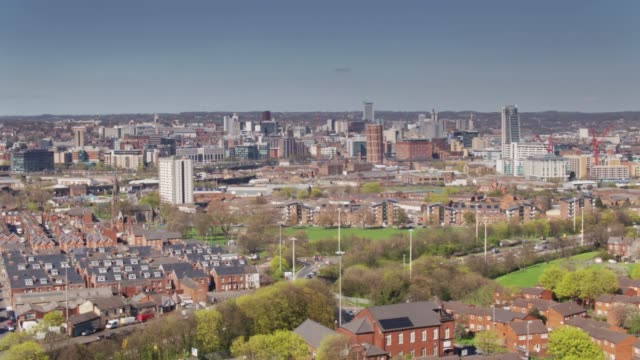 Leeds City Centre and Holbeck - Drone Shot video
