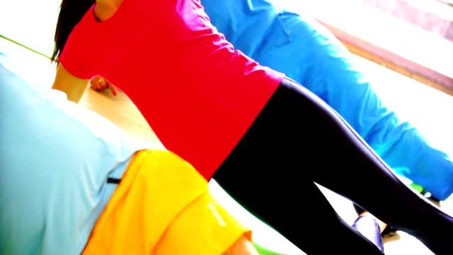 Leg exercise. video