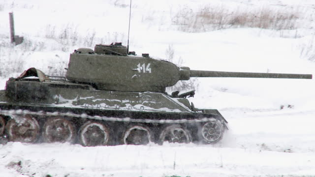 Legendary Russian Tank T34 video