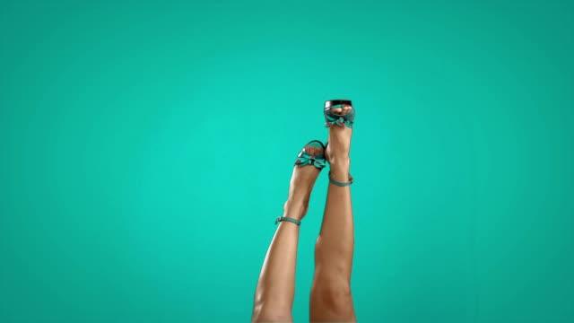 legs in the air video