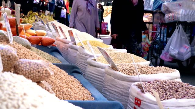Legumes Family on Farmer's Market