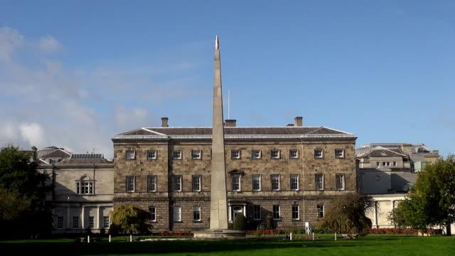 Leinster House - Dublin, Republic of Ireland video
