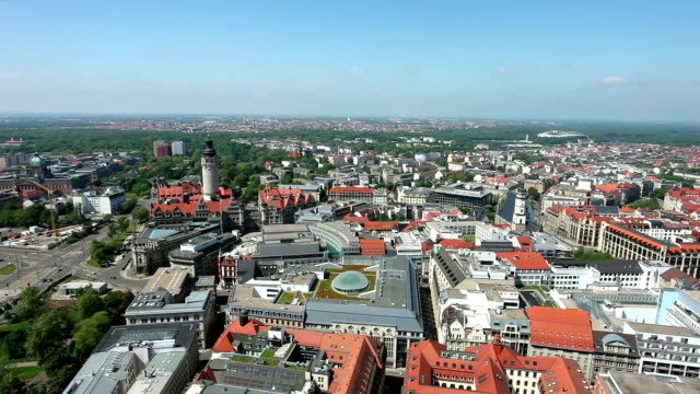 Leipzig in Germany, Real Time video
