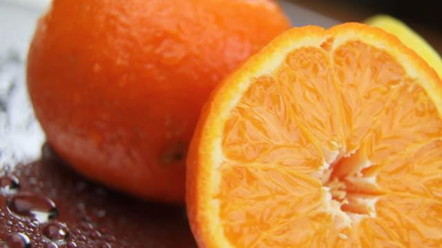lemon and orange - loopable - apelsin bildbanksvideor och videomaterial från bakom kulisserna