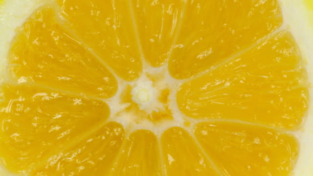 Lemon Slice On White video