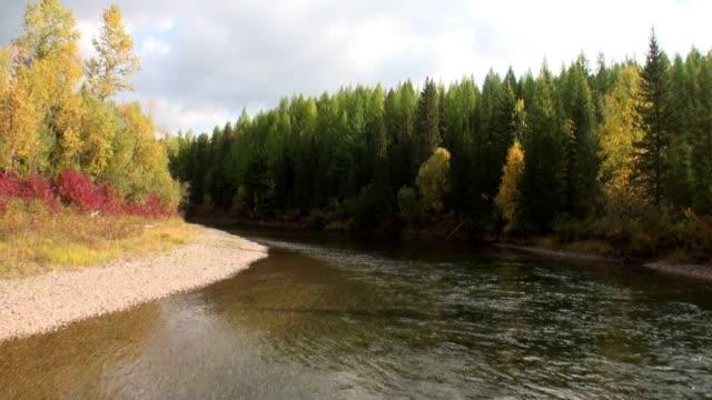 stockvideo's en b-roll-footage met de rivier van lena in siberië. - duurzaam toerisme