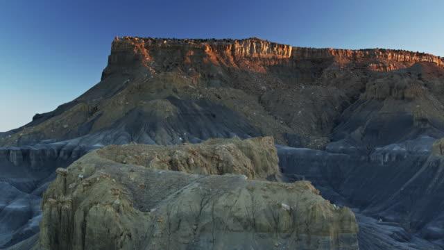 Lengthening Shadows in Miller Canyon, Utah - Drone Shot video