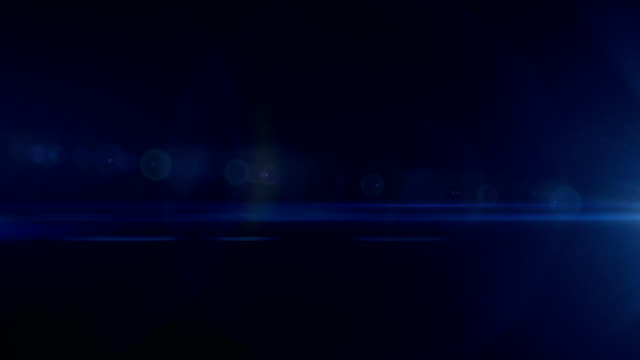 Lens Flare Abstract Background. 4K Optical flares animation.