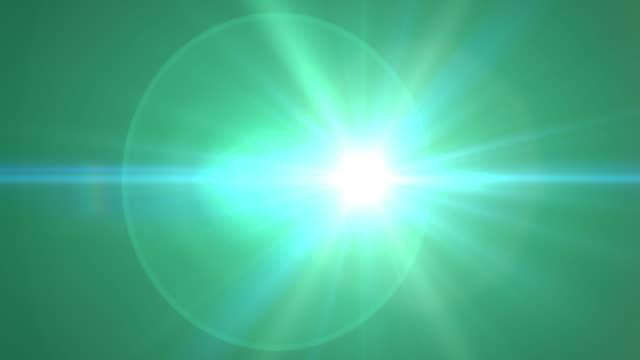 Lens Flare Abstract Background video