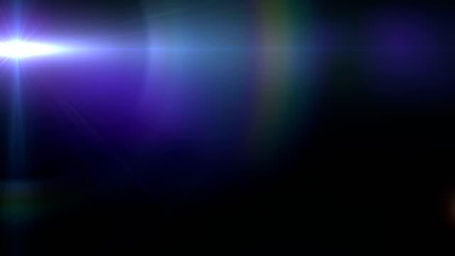 lens flare light transition. sun light. - flara obiektywu filmów i materiałów b-roll
