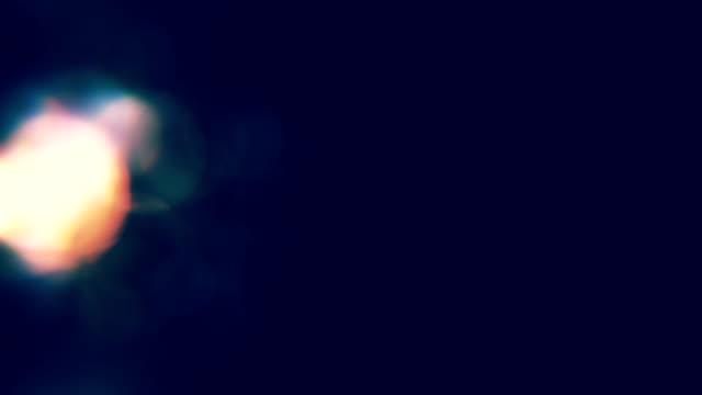 lens flare, optical flare, lights, transitions, film burns, light leak, film flashes, burn out - riflettore lenticolare video stock e b–roll
