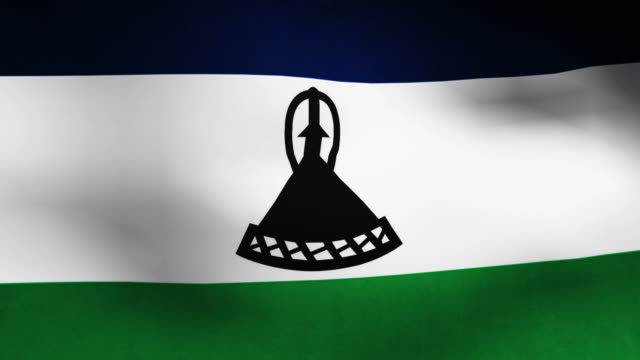 Lesotho flag video