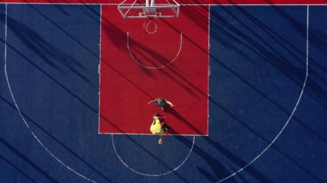 vídeos y material grabado en eventos de stock de que gane mejor - basketball hoop