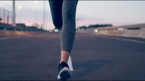 I let the road guide me when I'm running 4k video footage of an unrecognizable woman out for a run in the city lifestyles stock videos & royalty-free footage