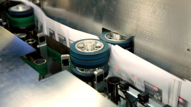 bokstavssortering efter maskin. - livsmedelstillverkningsfabrik bildbanksvideor och videomaterial från bakom kulisserna