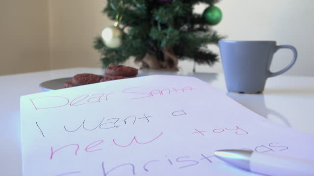 Letter to Santa Claus video