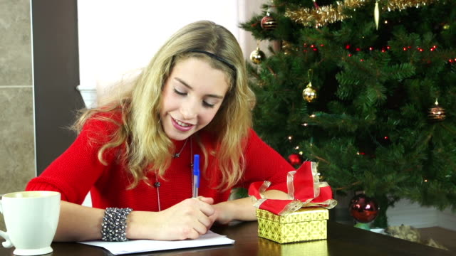 letter to Santa video