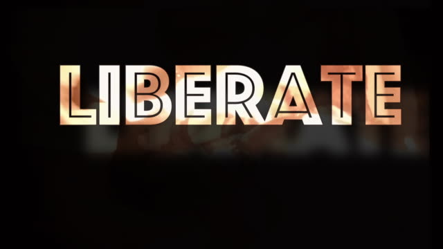 Liberate stay at home covid19 protest computer graphic