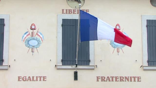 vídeos y material grabado en eventos de stock de liberté egalité fraternité - francia