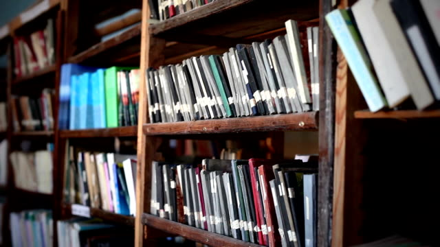 vídeos y material grabado en eventos de stock de la biblioteca - biblioteca