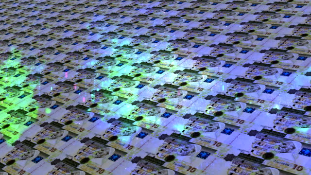libyan dinar notes - libia video stock e b–roll