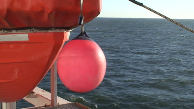 Lifeboat on a cruise ship (HDV1080i/50) video