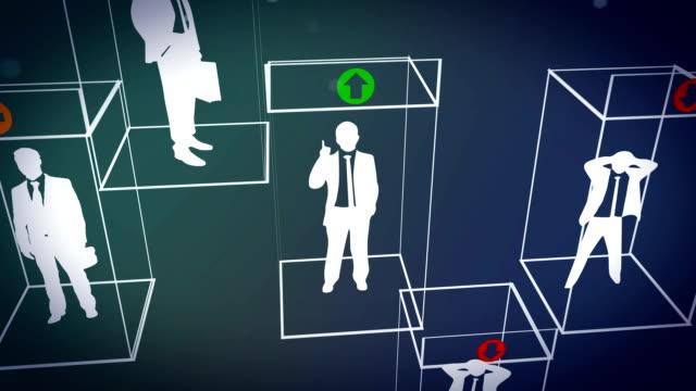 lift elevator business people video