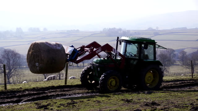 Lifting a Silage Bale video