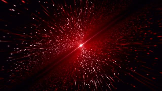 ljusstrålen, röd partikel bakgrund - röd bildbanksvideor och videomaterial från bakom kulisserna